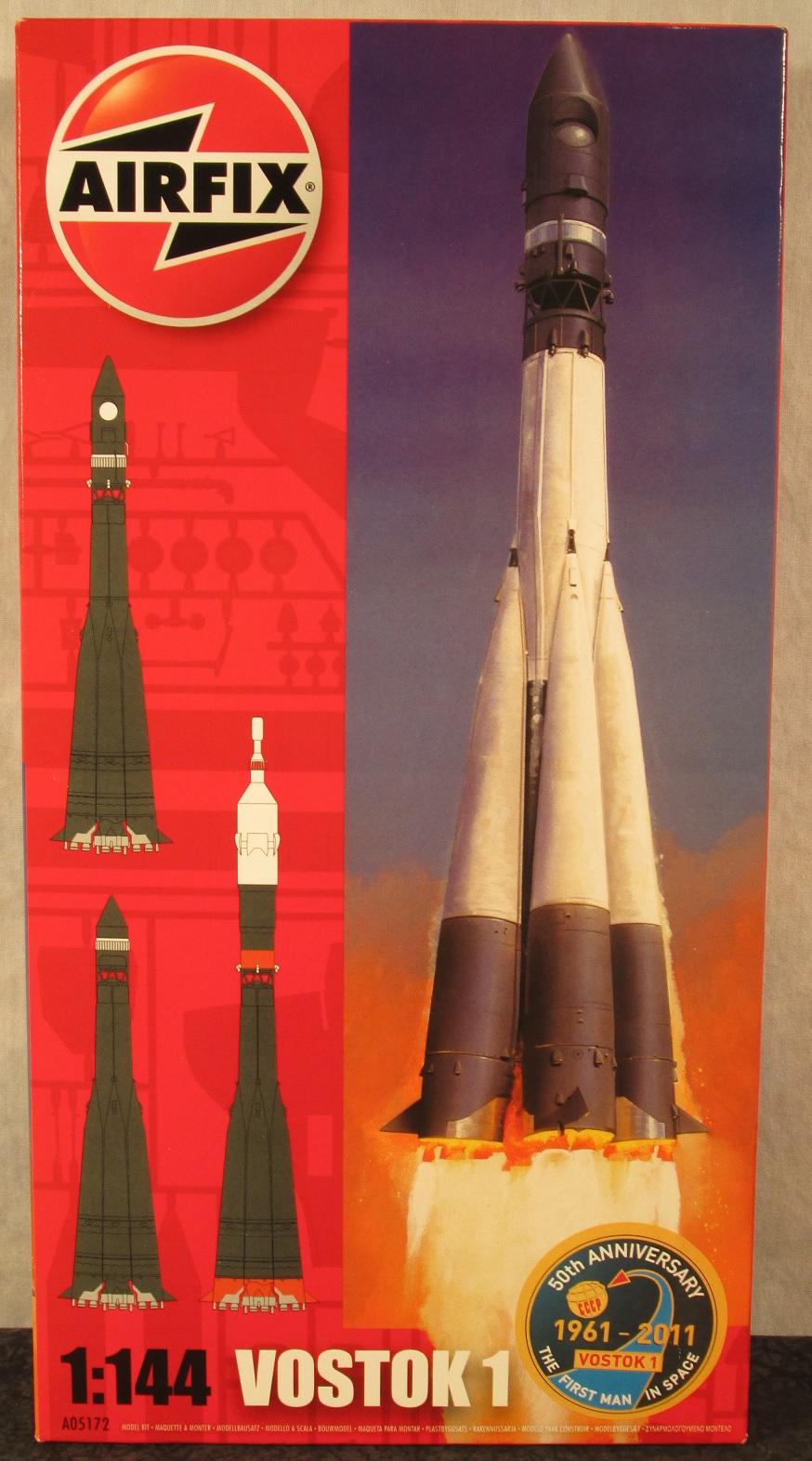 Airfix Ussr Soviet 1 144 Scale Vostok 1 Rocket Afx 5172