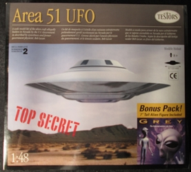 Area 51 1:48 scale UFO w/ Alien