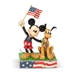 "Disney Traditions Jim Shore's Mickey Mouse and Pluto ""Banner Day"" Statue - ENS-6005975"