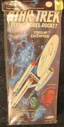 Estes #1275 Star Trek U.S.S. Enterprise Flying Rocket Kit