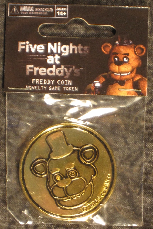 Five Nights at Freddy's Fazbear Arcade Token Prop Replica