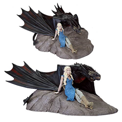 Game of Thrones Daenerys and Drogon Statue