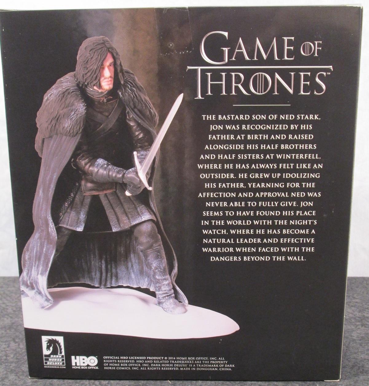 game of thrones figures dark horse
