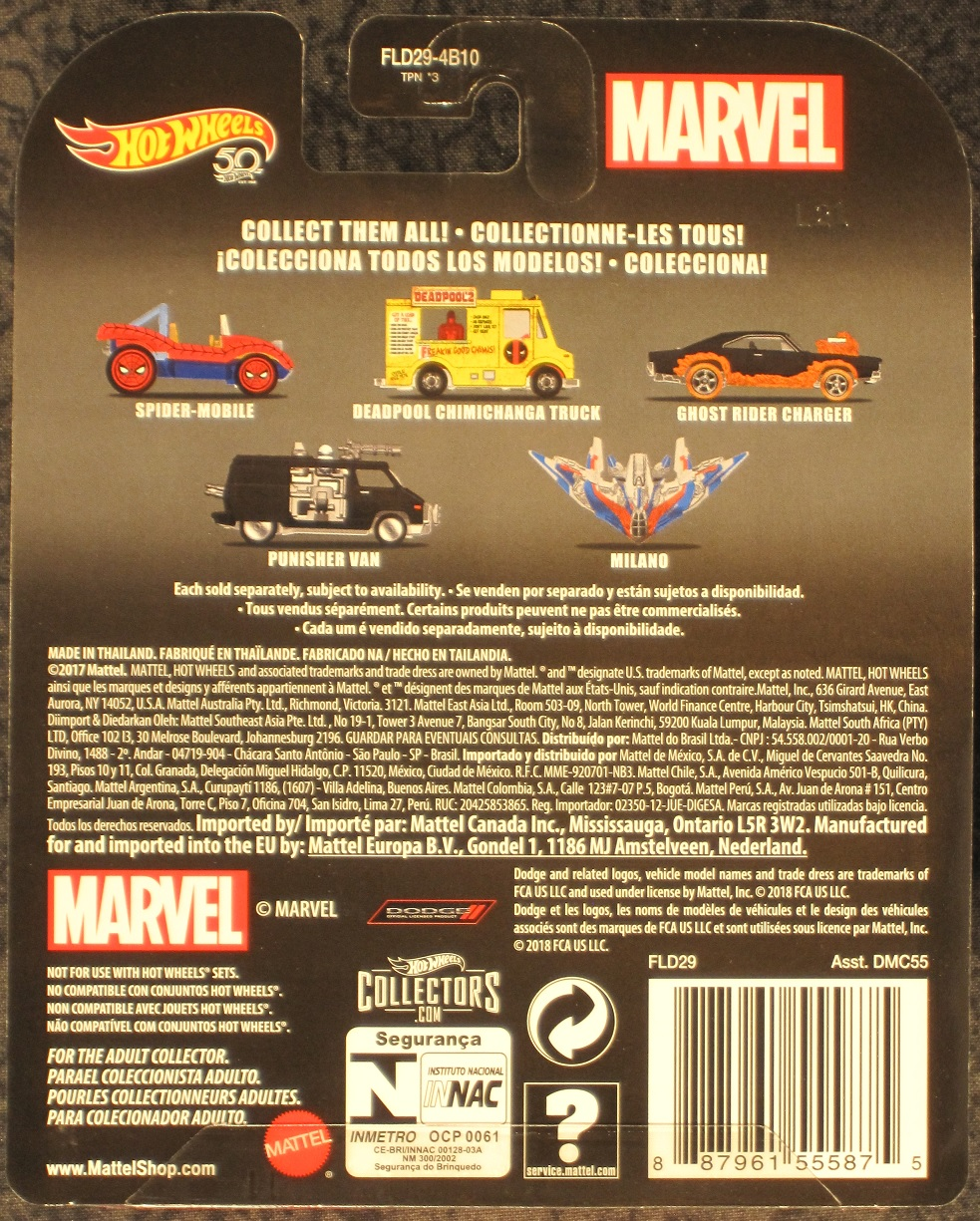 Ghost Rider Charger in Flames Die-Cast Vehicle