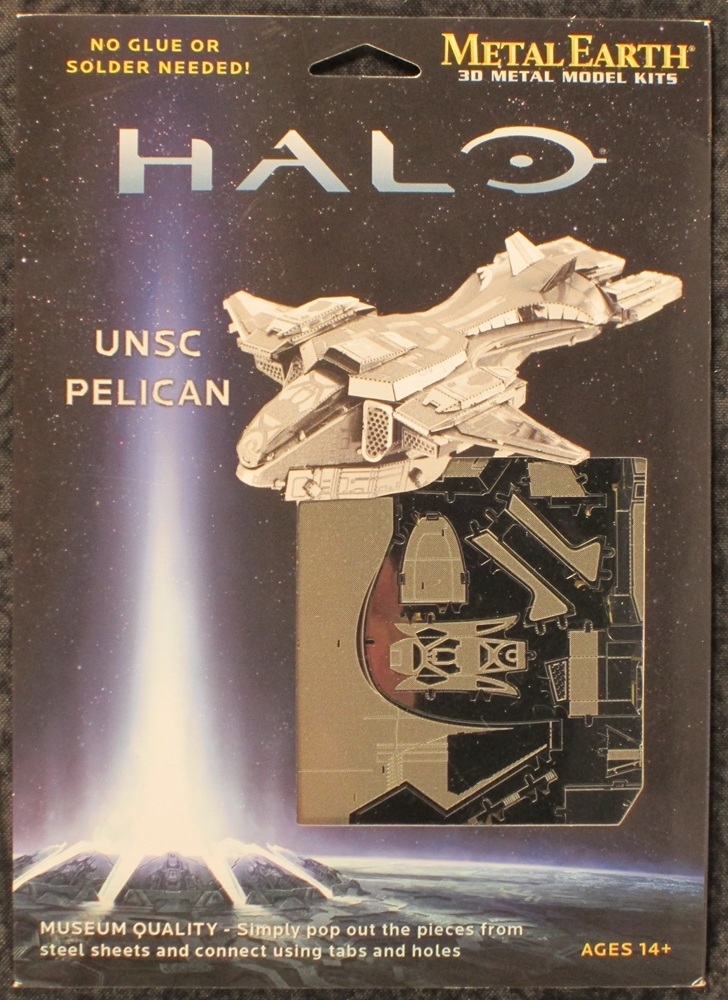 Fascinations Halo Pelican Vehicle Metal Earth Kit Fas 292