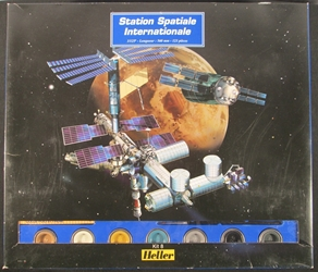 Heller 1:125 Scale International Space Station