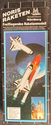Large scale NASA Space Shuttle Mid-Power Flying Rocket Kit