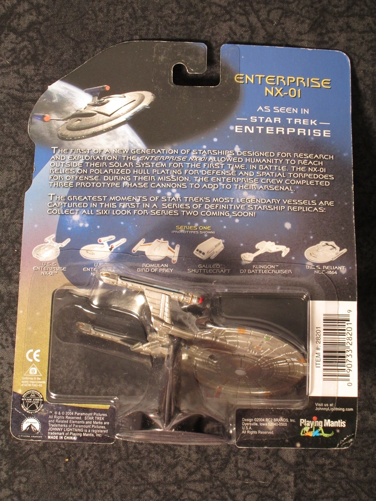 Legends of Star Trek U S S  Enterprise NX-01
