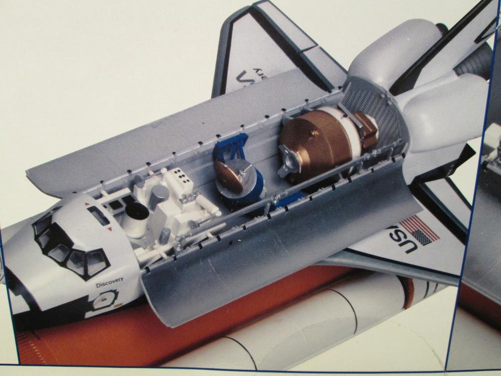 monogram space shuttle interior - photo #19
