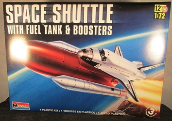 NASA 1:72 scale Space Shuttle w/ Boosters
