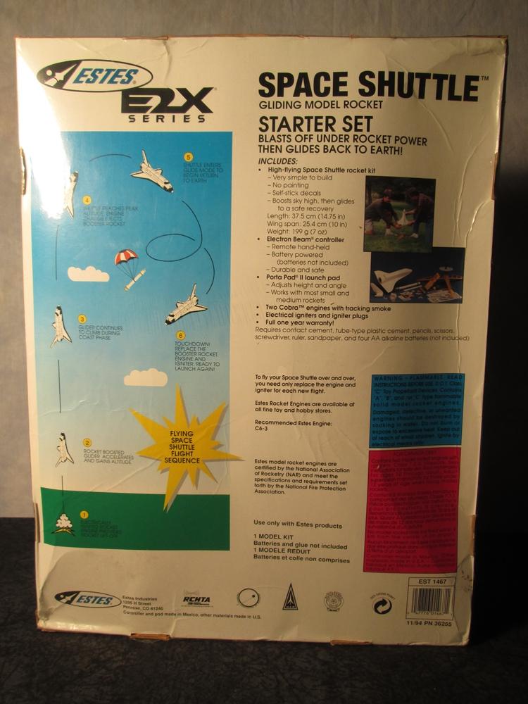 NASA Space Shuttle Gliding Model Rocket Starter Set