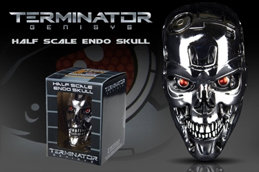 SDCC 2015 Exclusive Terminator 1:2 scale Endo-Skull