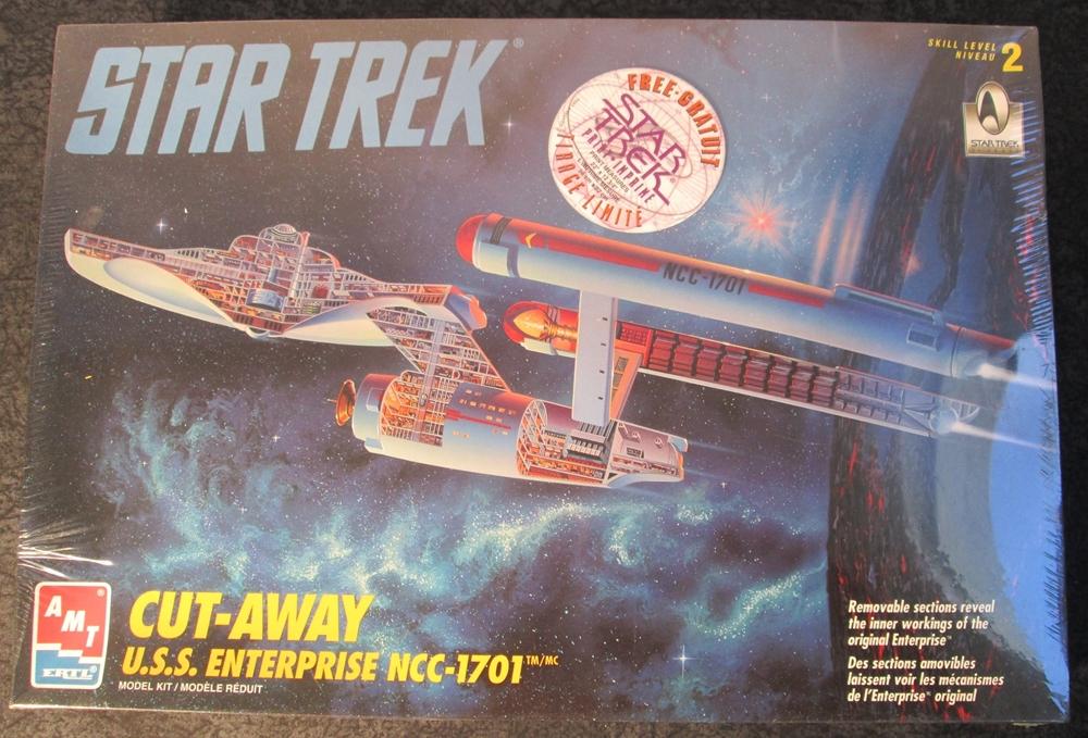 amt etrl star trek 1 500 scale cut away u s s enterprise ncc 1701