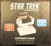Star Trek The Original Series 1:6 scale Enterprise Captain's Chair Replica - QMX-110