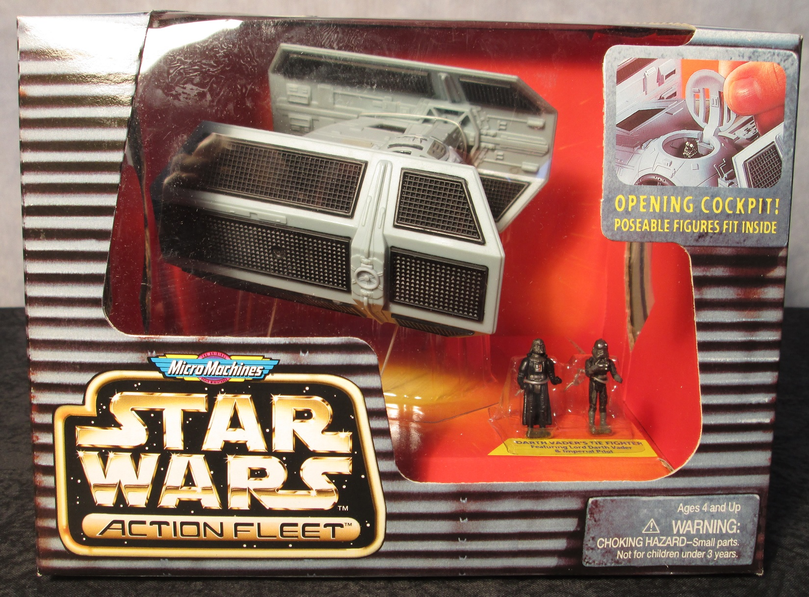 Star Wars Action Fleet Series Darth Vader/'s Tie Fighter Advanced