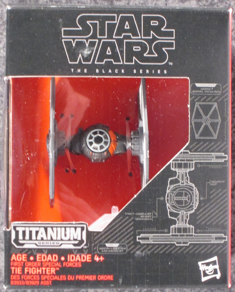 Star Wars The Black Series Titane #28 The Inquisitor/'s Tie Fighter