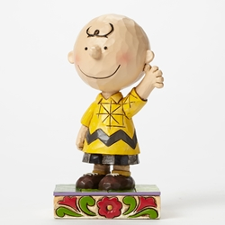 Jim Shore Peanuts Charlie Brown Personality Pose Figure