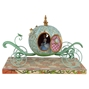 Disney Traditions Jim Shore Lighted Pumpkin Coach with Cinderella Figure