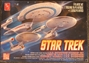 Star Trek 1:2500 scale Cadet Series U.S.S. Enterprise Set plastic model kit