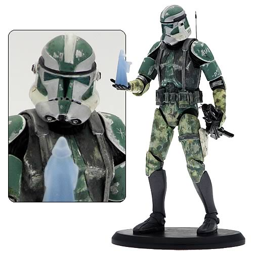 Star Wars Elite Collection Commander Gree Collectible Statue