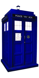 Doctor Who 1:6 scale 11th Doctor TARDIS Light-up Miniature Diorama