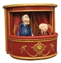 The Muppets Hecklers Statler and Waldorf Vinyl Figures with Balcony Seats