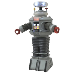 Lost in Space B9 Electronic Robot Plastic Model