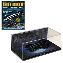 Batman Live 2011 Batmobile w/ #80 Magazine