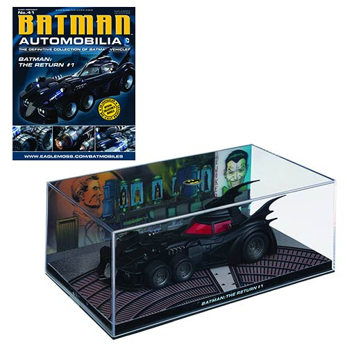 Batman The Return #1 Batmobile w/ #41 Magazine