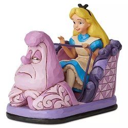 Disney Traditions Jim Shores Alice in Wonderland Attraction Statue