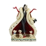 "Disney Traditions 101 Dalmatians Cruella ""The Cute and the Cruel"" Statue"