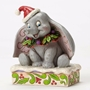 Disney Traditions Dumbo Sweet Snow Fall Christmas Figure