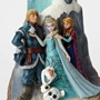 Disney Traditions Frozen Birch Carved by Heart Figure