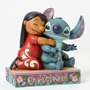 "Disney Traditions Lilo and Stitch ""Ohana"" Statue"