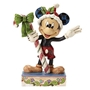 Disney Traditions Mickey Mouse Sweet Greetings Christmas Figure