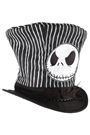 Nightmare Before Christmas Jack Skellington Top Hat