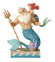 Disney Traditions Little Mermaid Ariel and King Triton Figure