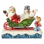 "Jim Shore Frosty The Snowman ""I'll Be Back Christmas Day"" Statue"