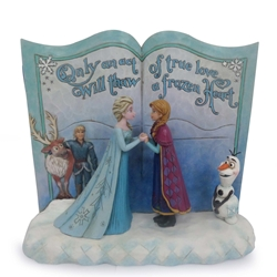 Disney Traditions Jim Shore Frozen Storybook Figure