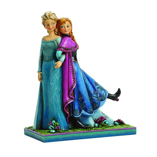 Disney Traditions Jim Shore Frozen Anna and Elsa Figure