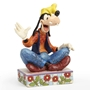 "Disney Traditions Jim Shore Goofy ""Gawrsh!"" Personality Pose Figure"