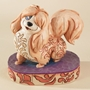 Disney Traditions Jim Shore Lady and the Tramp Flirtatious Peg Figure