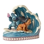 "Disney Traditions Lilo and Stitch 15th Anniversary ""Catch The Wave"" Figure"