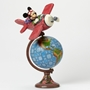Disney Traditions Jim Shore Mickey Mouse Globetrotting Adventure Figure
