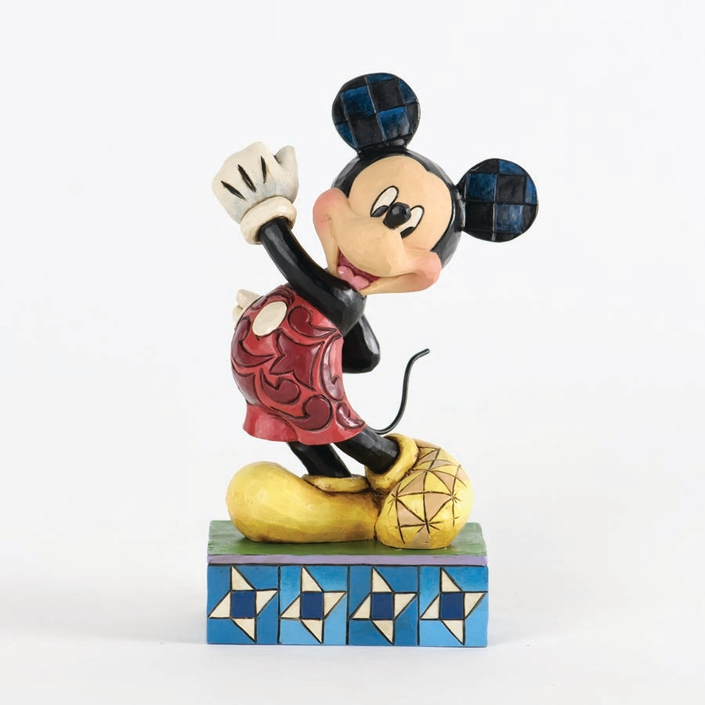 ac28ad7cc Disney Traditions Jim Shore Modern Day Mickey Mouse Figure - ENS-4033287 ...