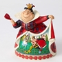 Disney Traditions Jim Shore Alice in Wonderland Queen of Hearts Figure