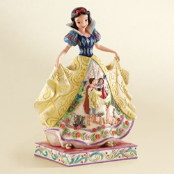 "Disney Traditions Jim Shore Snow White ""Fairy Tale Endings"" Figure"