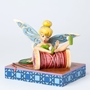 "Disney Traditions Jim Shore Tinkerbell ""Falling Fairy"" Figure"