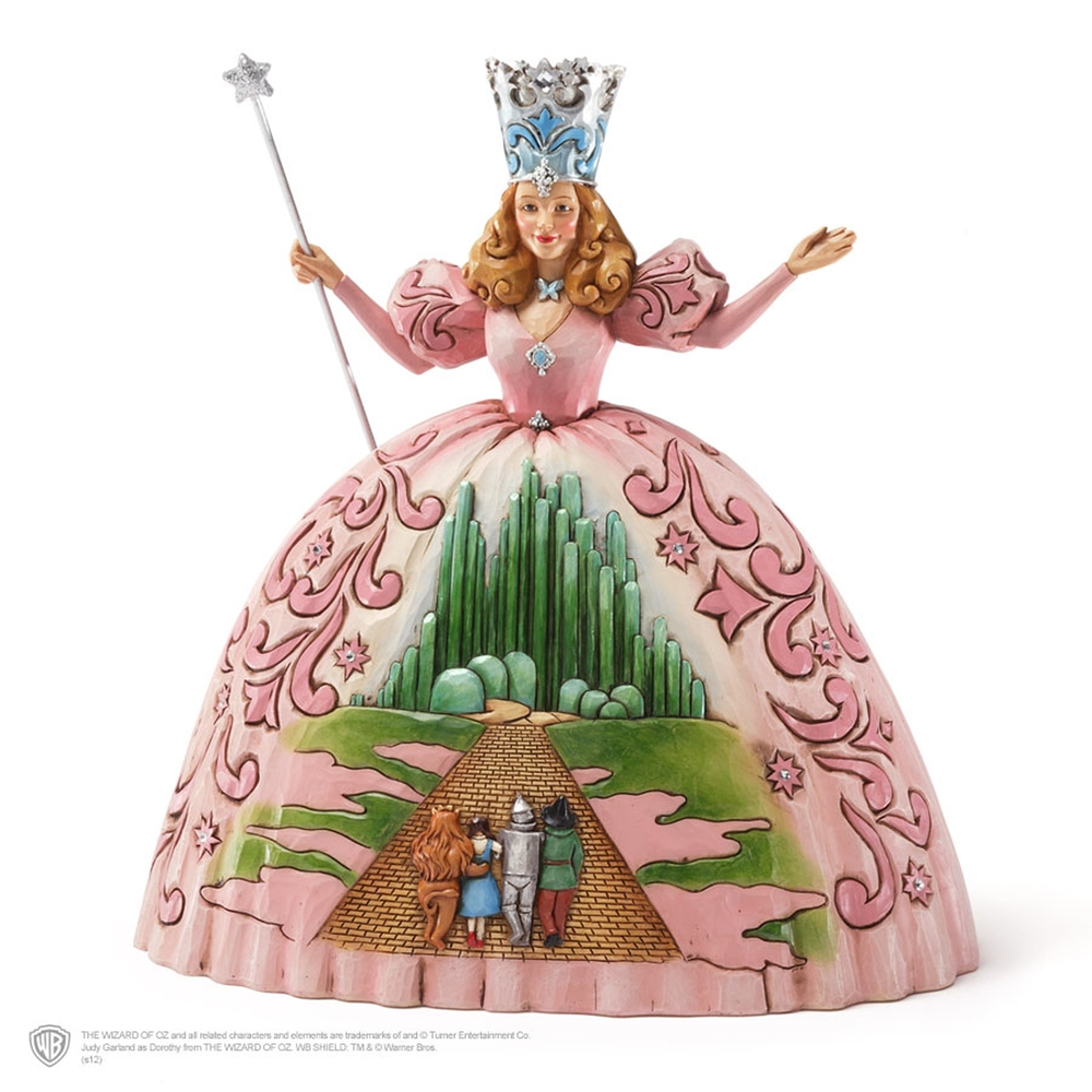 enesco wizard of oz jim shore glinda good witch of the north
