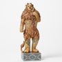 Wizard of Oz Cowardly Lion with Medal of Courage Statue